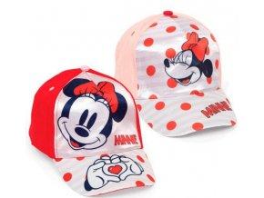 Kšiltovka Minnie Mouse
